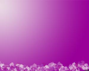 Flores Lilas Plantilla Powerpoint PPT Template