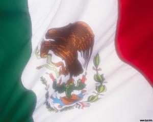 Bandera de Mexico Plantilla Powerpoint PPT Template