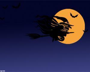 Bruja de Halloween PPT