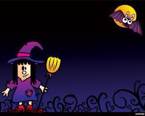 Trato o Treta Halloween PPT PPT Template