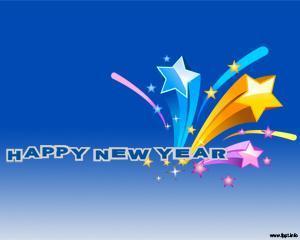Celebra Año Nuevo Plantilla PPT
