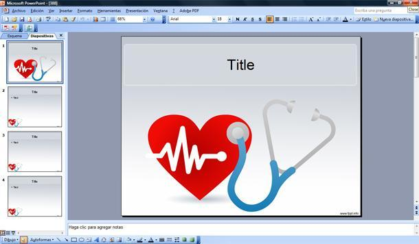 Free Heart PowerPoint Template