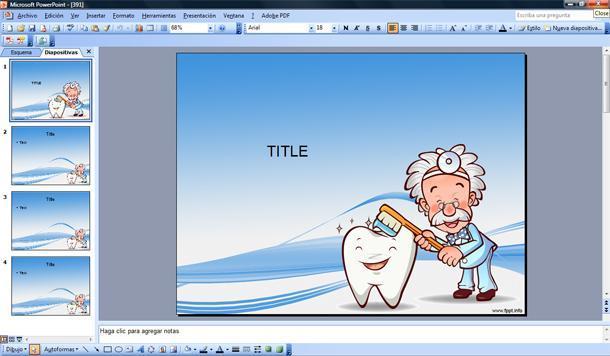 Dentista Plantilla Powerpoint