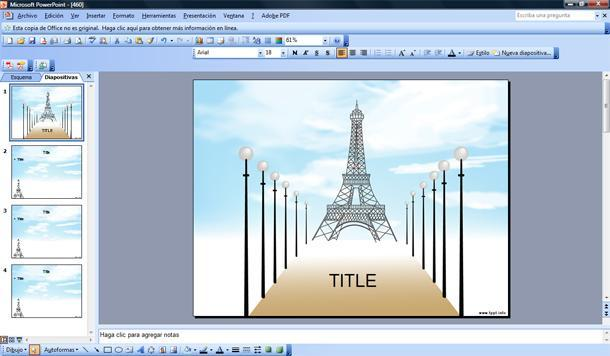 paris plantilla powerpoint