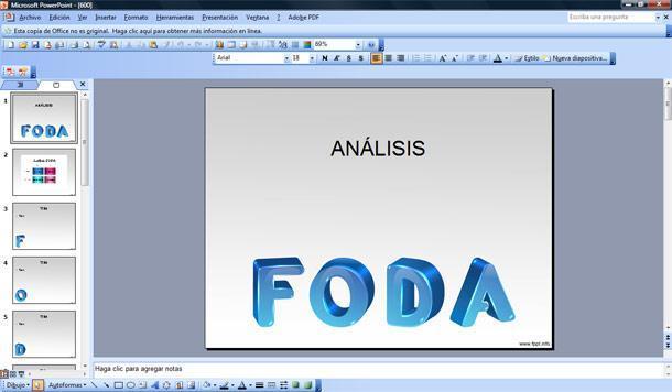 Foda Plantilla Powerpoint Plantillas Powerpoint Gratis