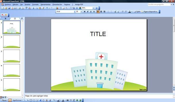 Hospital Plantilla PowerPoint | Plantillas PowerPoint Gratis