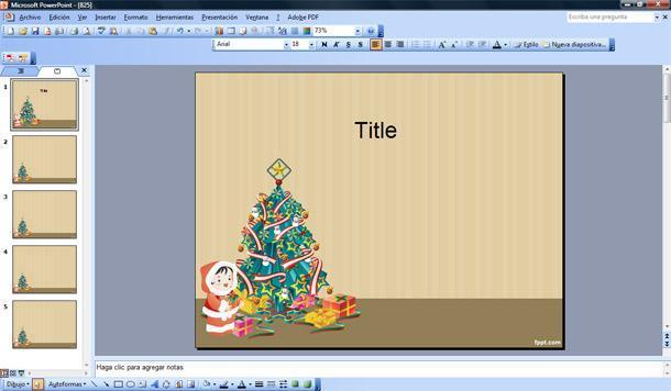 Arbol De Navidad Plantilla Powerpoint Plantillas Powerpoint Gratis